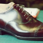 Foster and Son bespoke shoes #5 – finished shoe
