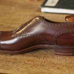 Foster and Son bespoke shoes #4 – finished shoe