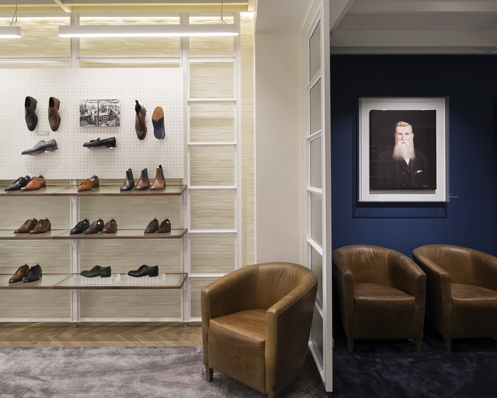 017 Joseph Cheaney - Shoe Display and Joseph Cheaney Portrait