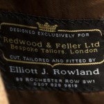 Redwood and Feller – bespoke tailors in London