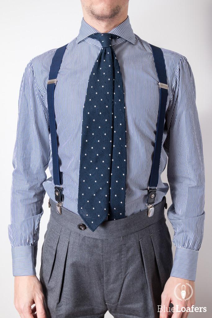 Bespoke line shirt from Testoria