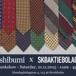 Shibumi x Skoaktiebolaget Trunk Show