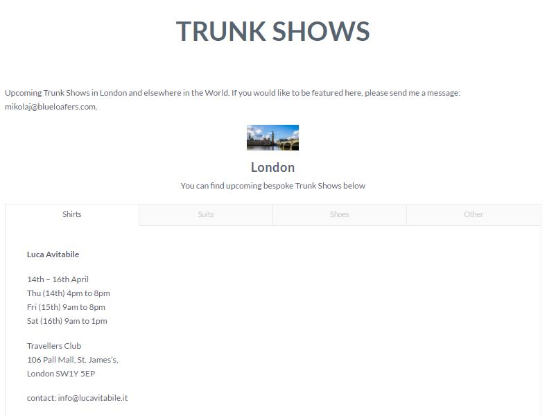 trunk shows blog2