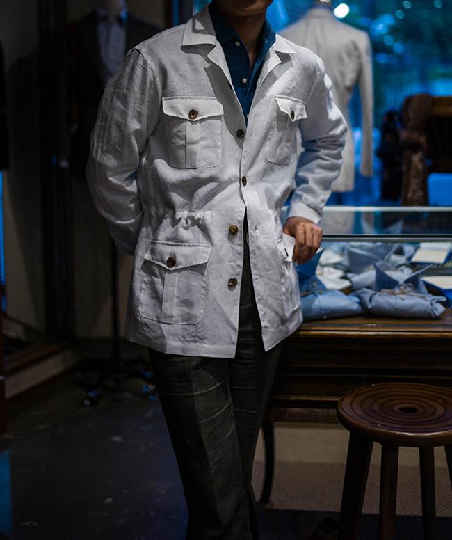 bntailor safari jacket
