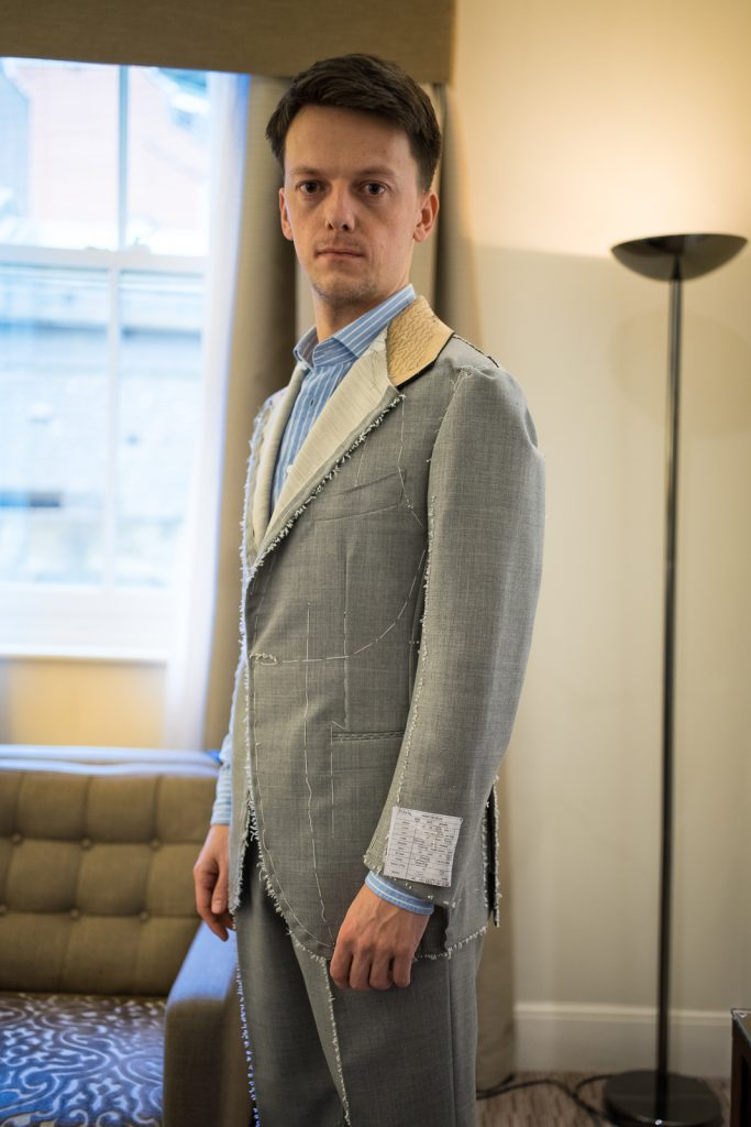 bntailor bespoke suit
