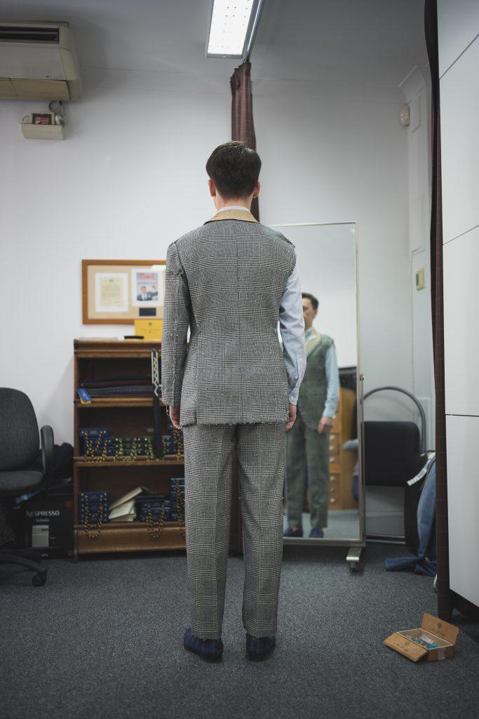 b&tailor bespoke suit
