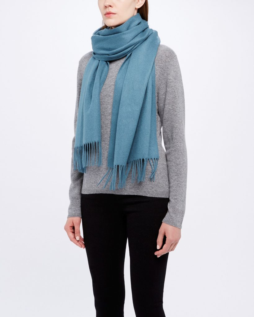 n. peal cashmere scarf