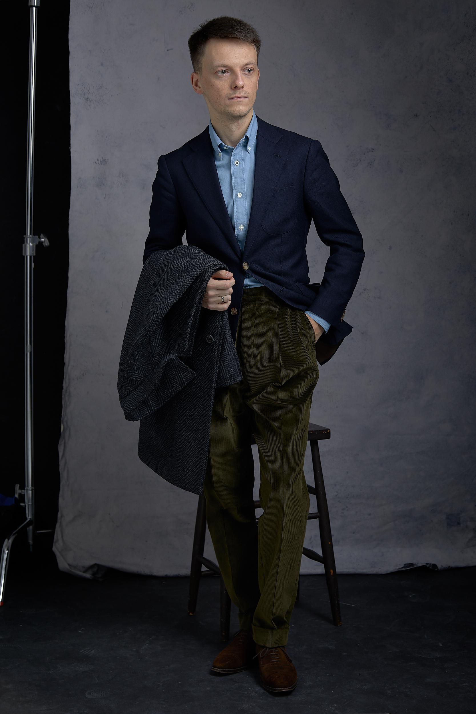 natalino corduroy trousers