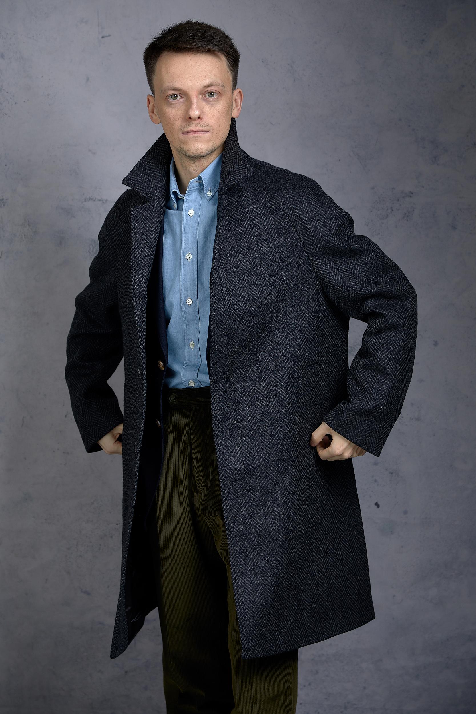 Natalino raglan overcoat