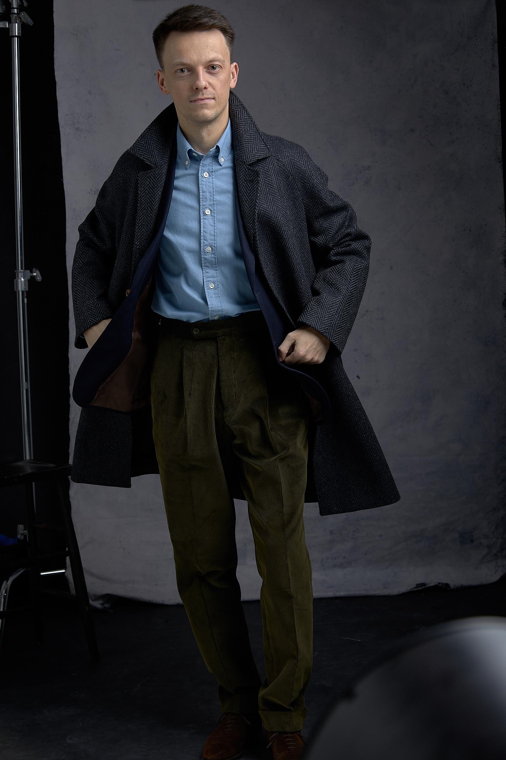 natalino raglan coat